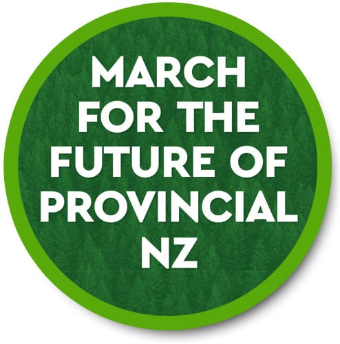 March for the Future of Provincial NZ